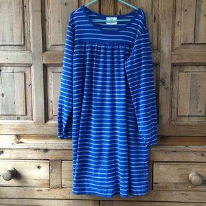 Girls Hanna Andersson 140/ 10 Striped Dress